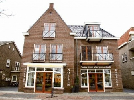 Nieuwbouw bakkerij en appartementen