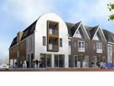 Nieuwbouw comm.ruimte en appartementen Raadhuisstraat